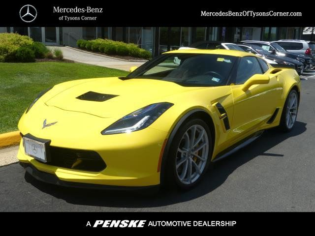 2017 Used Chevrolet Corvette 2dr Grand Sport Coupe w/2LT for Sale in