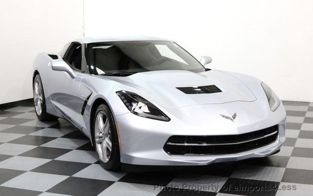 Used Corvette Stingray >> 2017 Used Chevrolet Corvette Certified Corvette Stingray 7 Speed