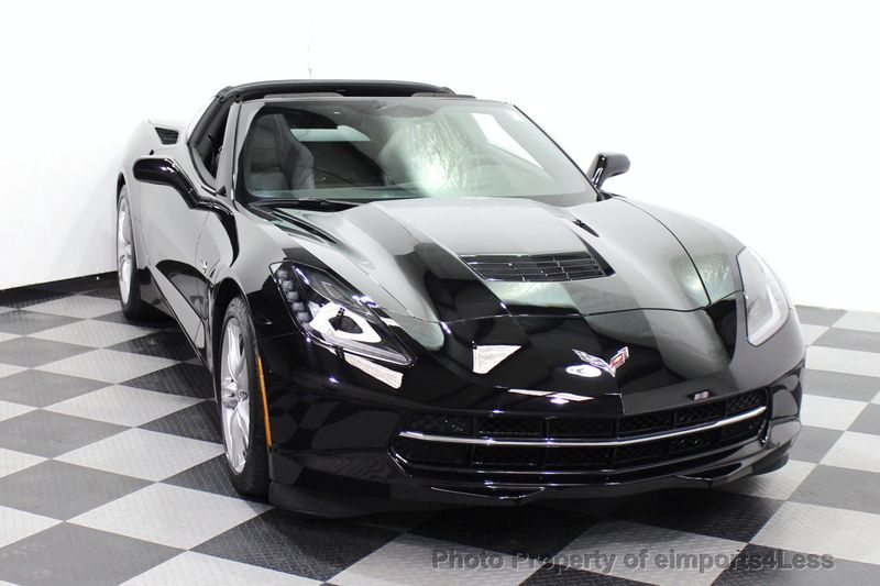2017 Chevrolet Corvette CERTIFIED STINGRAY 1018 MILES 7 SPEED PERF EXHAUST CAM - 18699639 - 15