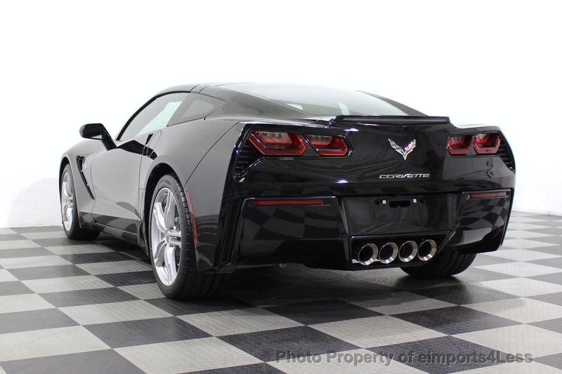 2017 Chevrolet Corvette CERTIFIED STINGRAY 1018 MILES 7 SPEED PERF EXHAUST CAM - 18699639 - 16