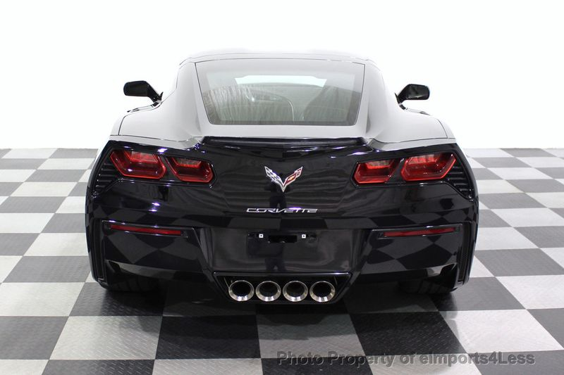 2017 Chevrolet Corvette CERTIFIED STINGRAY 1018 MILES 7 SPEED PERF EXHAUST CAM - 18699639 - 17