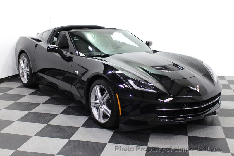 2017 Chevrolet Corvette CERTIFIED STINGRAY 1018 MILES 7 SPEED PERF EXHAUST CAM - 18699639 - 1