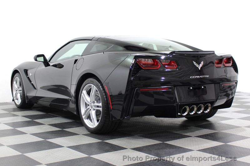 2017 Chevrolet Corvette CERTIFIED STINGRAY 1018 MILES 7 SPEED PERF EXHAUST CAM - 18699639 - 2