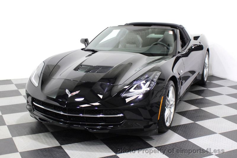 2017 Chevrolet Corvette CERTIFIED STINGRAY 1018 MILES 7 SPEED PERF EXHAUST CAM - 18699639 - 29