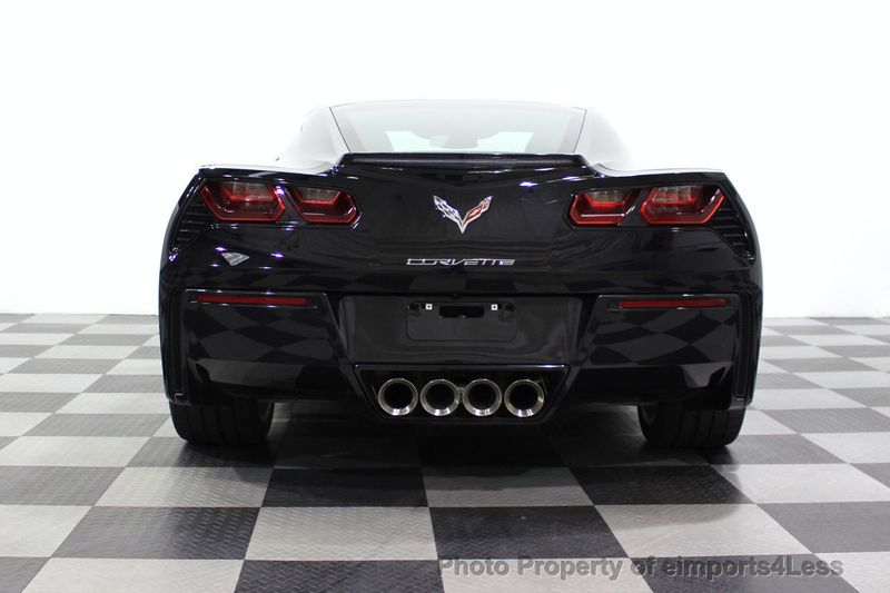 2017 Chevrolet Corvette CERTIFIED STINGRAY 1018 MILES 7 SPEED PERF EXHAUST CAM - 18699639 - 33