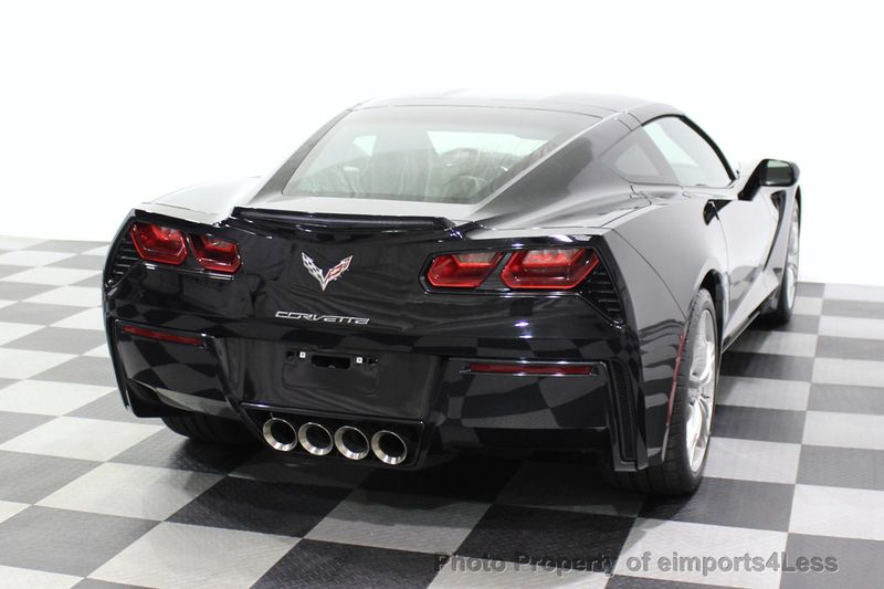 2017 Chevrolet Corvette CERTIFIED STINGRAY 1018 MILES 7 SPEED PERF EXHAUST CAM - 18699639 - 34