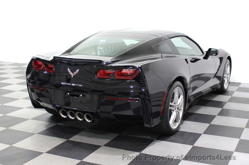 2017 Chevrolet Corvette CERTIFIED STINGRAY 1018 MILES 7 SPEED PERF EXHAUST CAM - 18699639 - 3