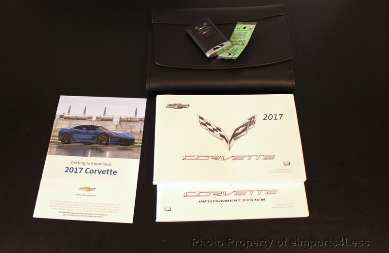 2017 Chevrolet Corvette CERTIFIED STINGRAY 1018 MILES 7 SPEED PERF EXHAUST CAM - 18699639 - 40