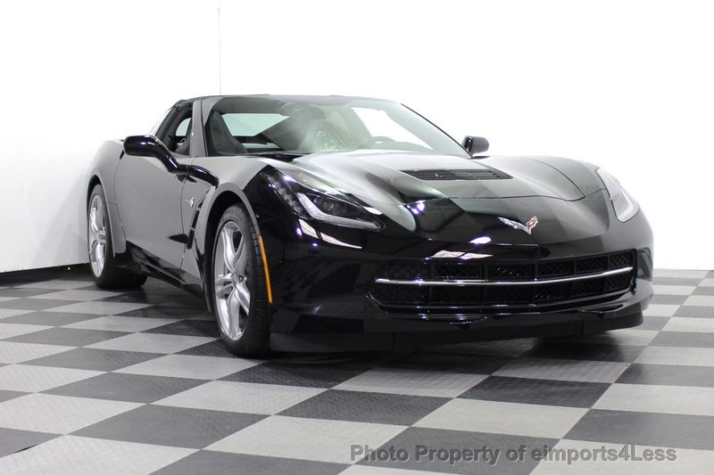 2017 Chevrolet Corvette CERTIFIED STINGRAY 1018 MILES 7 SPEED PERF EXHAUST CAM - 18699639 - 45