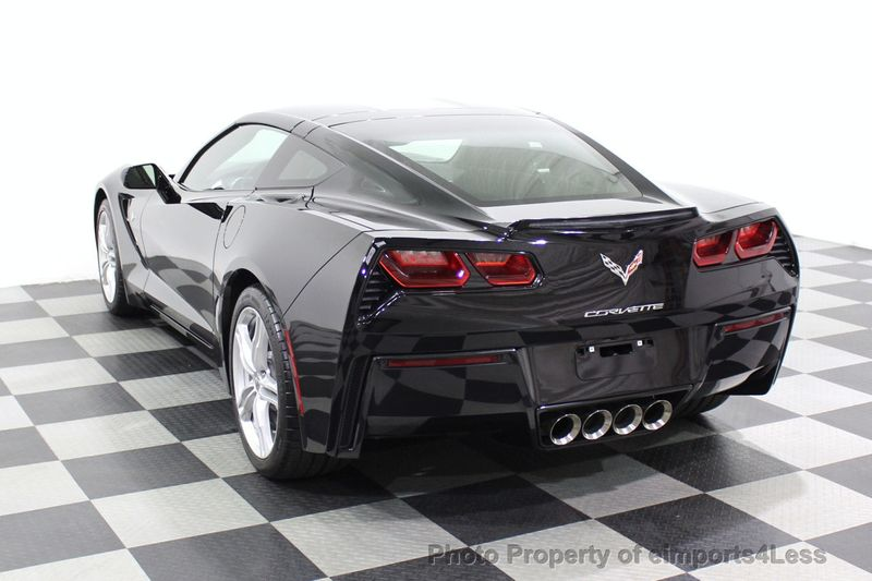 2017 Chevrolet Corvette CERTIFIED STINGRAY 1018 MILES 7 SPEED PERF EXHAUST CAM - 18699639 - 46