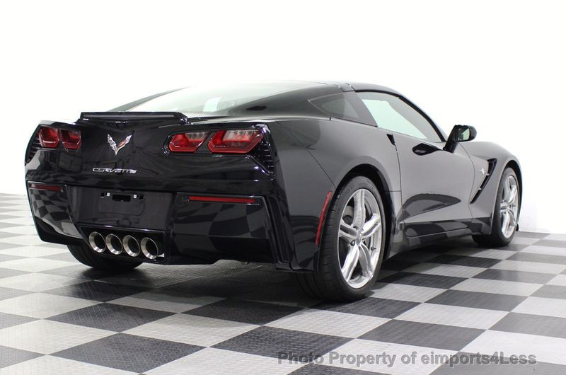 2017 Chevrolet Corvette CERTIFIED STINGRAY 1018 MILES 7 SPEED PERF EXHAUST CAM - 18699639 - 47