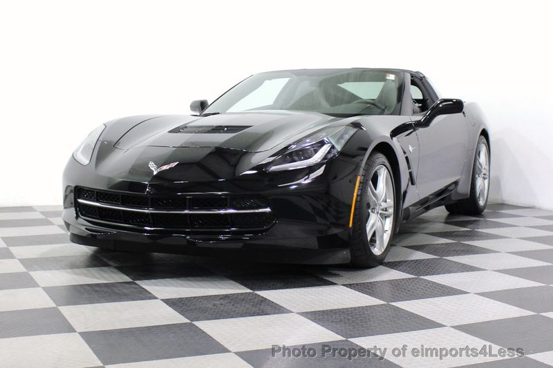2017 Chevrolet Corvette CERTIFIED STINGRAY 1018 MILES 7 SPEED PERF EXHAUST CAM - 18699639 - 50