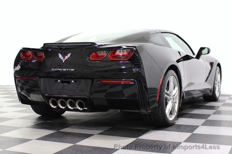 2017 Chevrolet Corvette CERTIFIED STINGRAY 1018 MILES 7 SPEED PERF EXHAUST CAM - 18699639 - 52