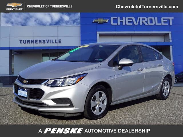 2017 Used Chevrolet Cruze 4dr Sedan Automatic Ls At Turnersville Automall Serving South Jersey Nj Iid 20280207