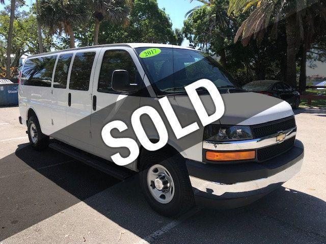 "2017 Chevrolet Express Passenger RWD 3500 155"" LS w/1LS"