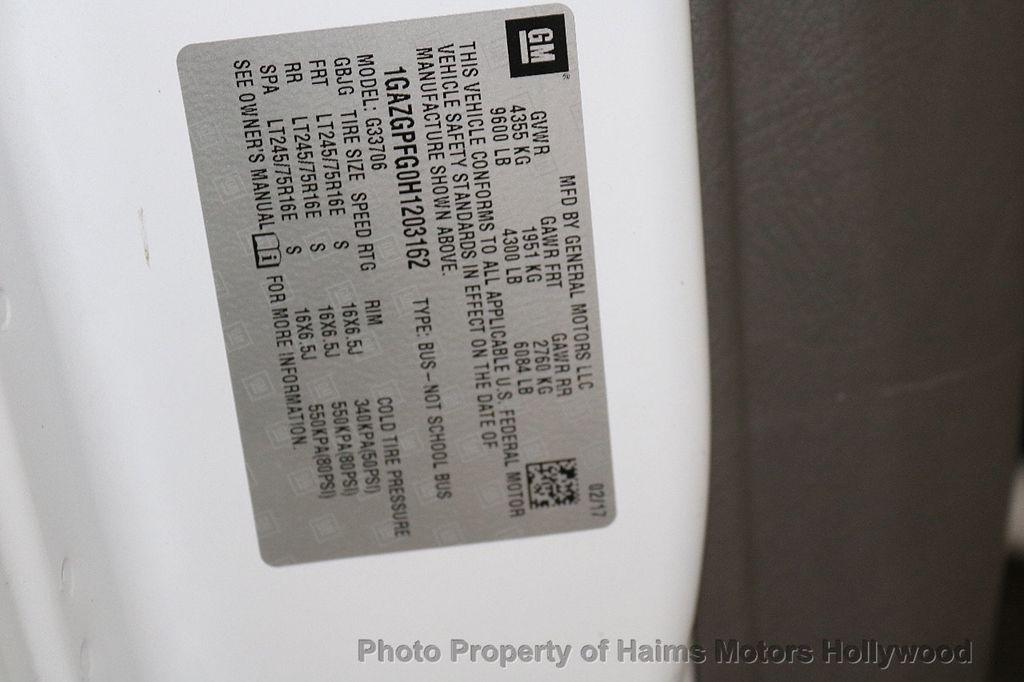 "2017 Chevrolet Express Passenger RWD 3500 155"" LT w/1LT - 18074964 - 28"