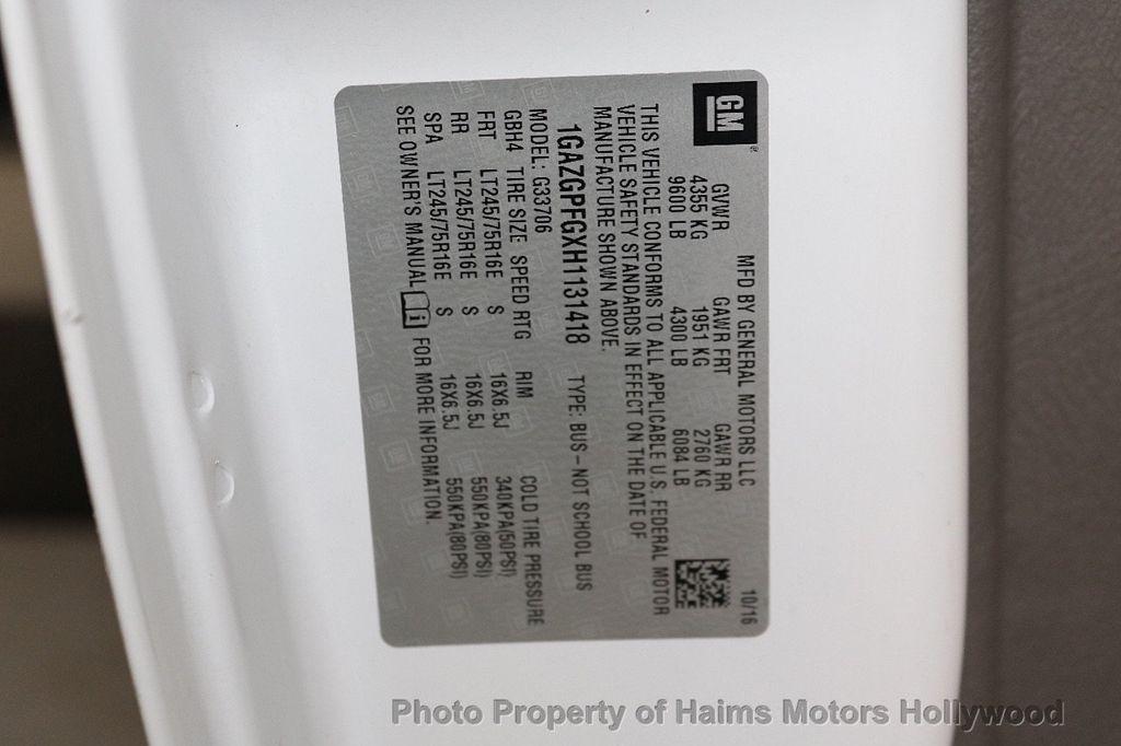 "2017 Chevrolet Express Passenger RWD 3500 155"" LT w/1LT - 18122257 - 26"