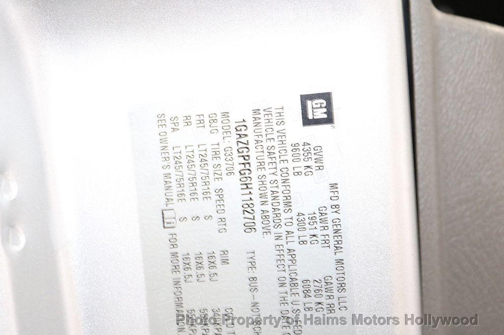 "2017 Chevrolet Express Passenger RWD 3500 155"" LT w/1LT - 18387162 - 27"