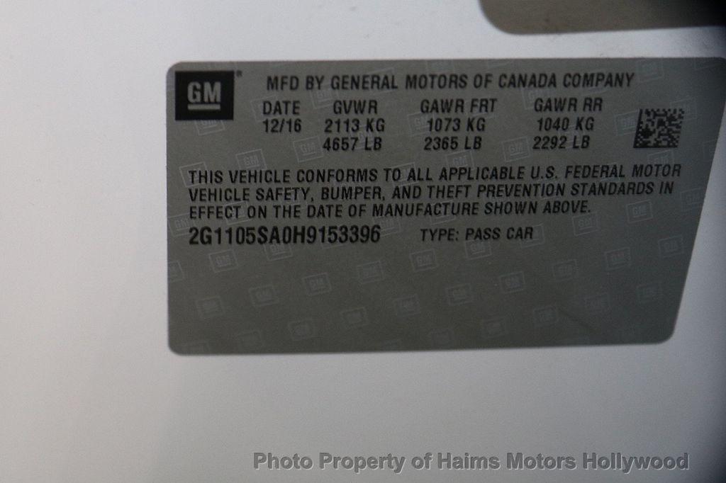 2017 Chevrolet Impala 4dr Sedan LT w/1LT - 17093608 - 30