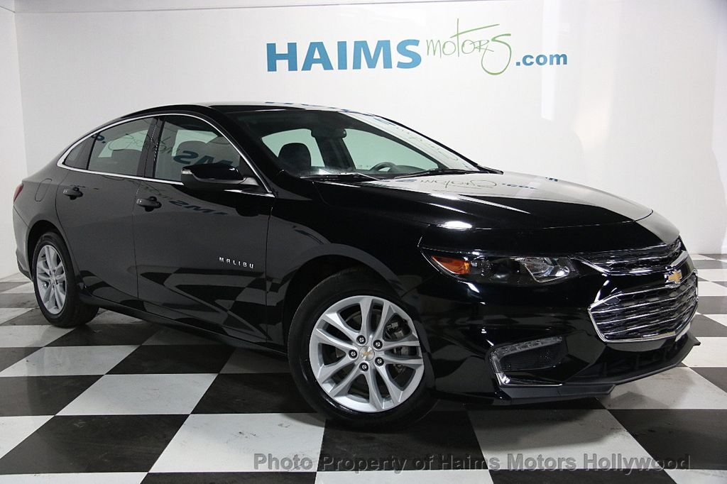 2017 used chevrolet malibu 4dr sedan lt w 1lt at haims motors serving fort lauderdale hollywood. Black Bedroom Furniture Sets. Home Design Ideas