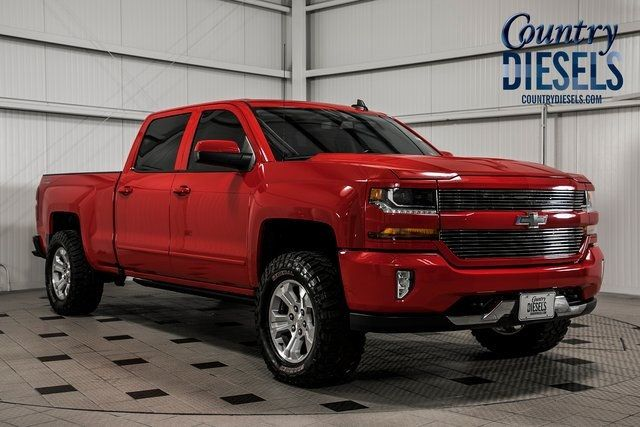 2017 Used Chevrolet Silverado 1500 2lt Z71 Custom Sport At Country Auto Group Serving Warrenton Va Iid 19258889
