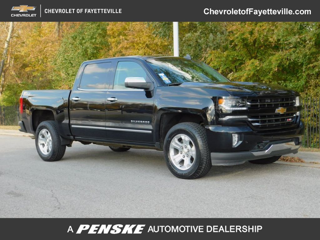 2017 Chevrolet Silverado 1500 1lz >> 2017 Used Chevrolet Silverado 1500 4wd Crew Cab 143 5 Ltz W 1lz At Fayetteville Autopark Ar Iid 19507211