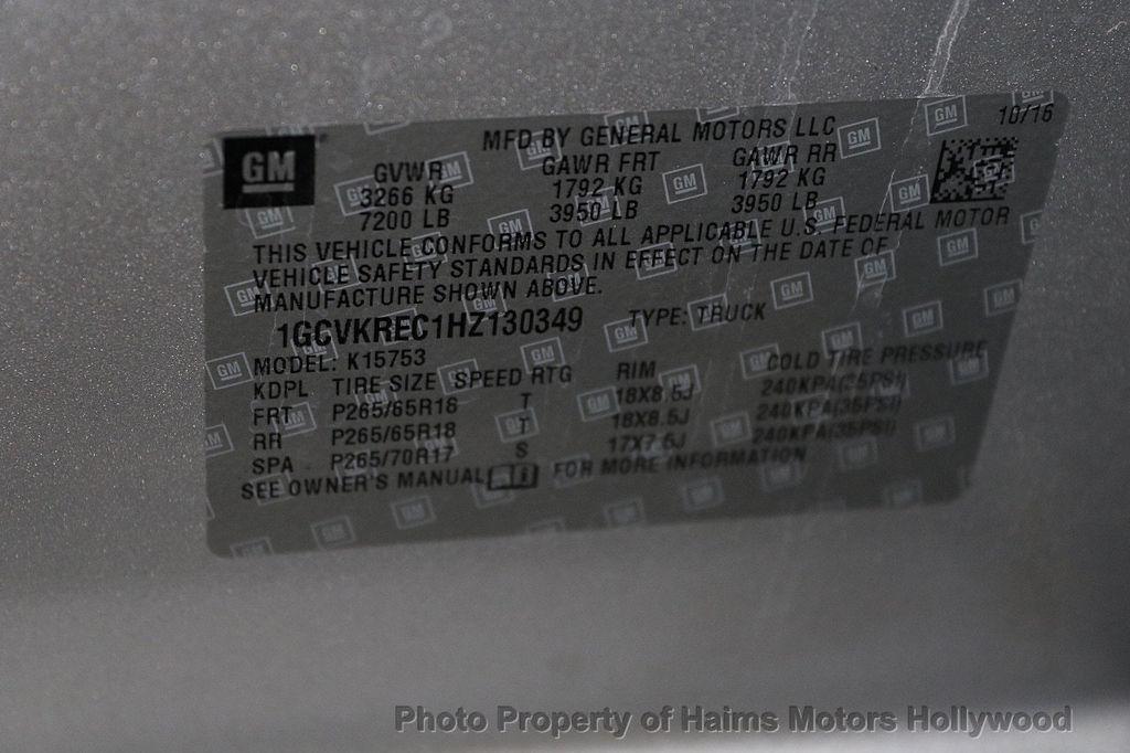 "2017 Chevrolet Silverado 1500 4WD Double Cab 143.5"" LT w/1LT - 17509735 - 33"
