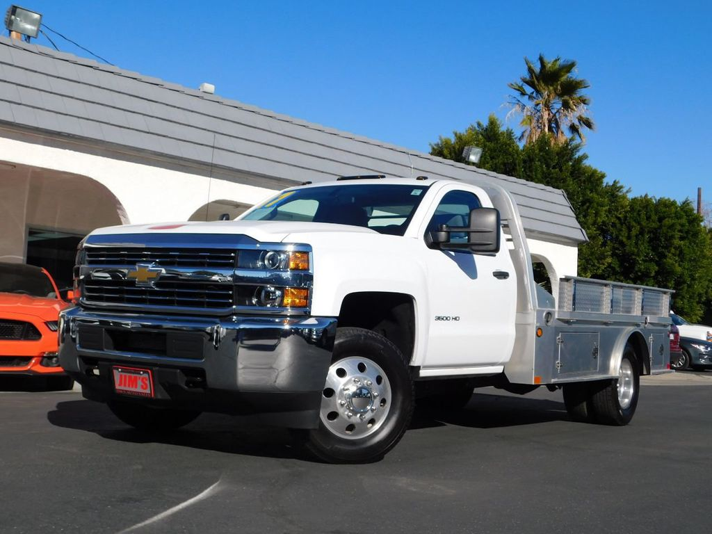 """2017 Chevrolet Silverado 3500HD 2WD Reg Cab 133.6"""" Work Truck - 18460000 - 0"""