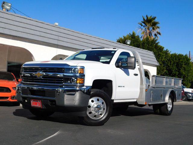 2017 Used Chevrolet Silverado 3500hd Ca 1 Owner Flat Bed Hauler 17k Mi Like New At Jim S Auto Sales Serving Harbor City Ca Iid 18460000