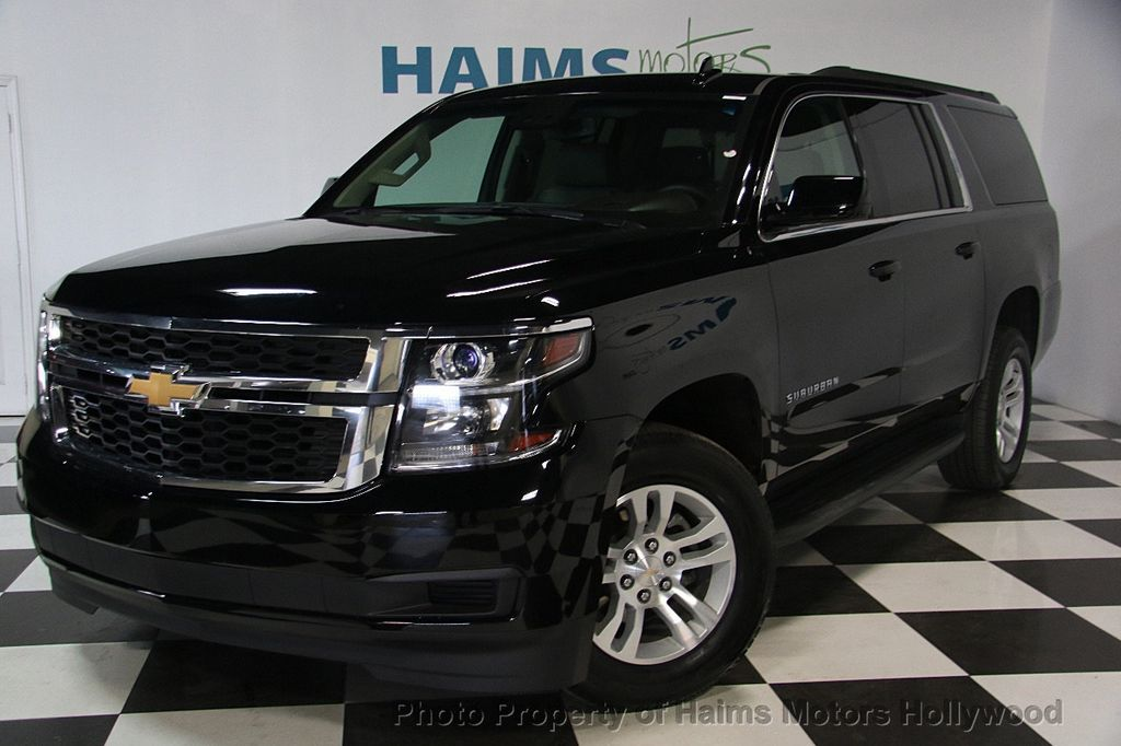 2017 used chevrolet suburban 2wd 4dr 1500 lt at haims motors serving
