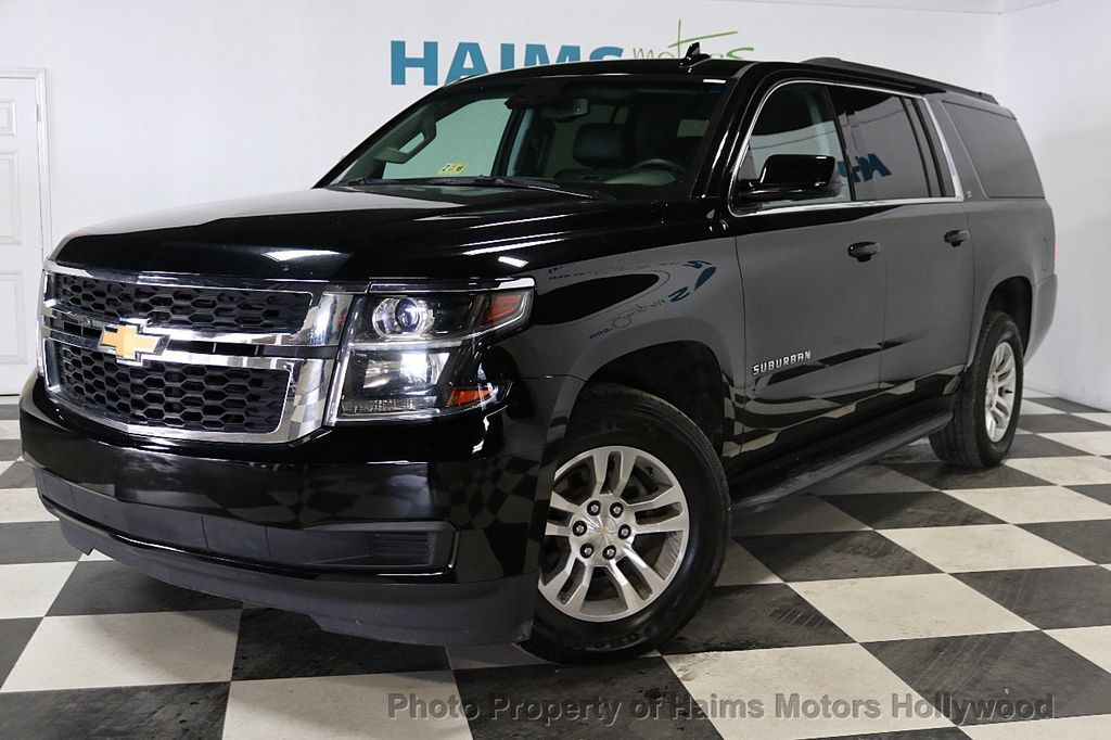 2017 used chevrolet suburban 4wd 4dr 1500 lt at haims motors serving