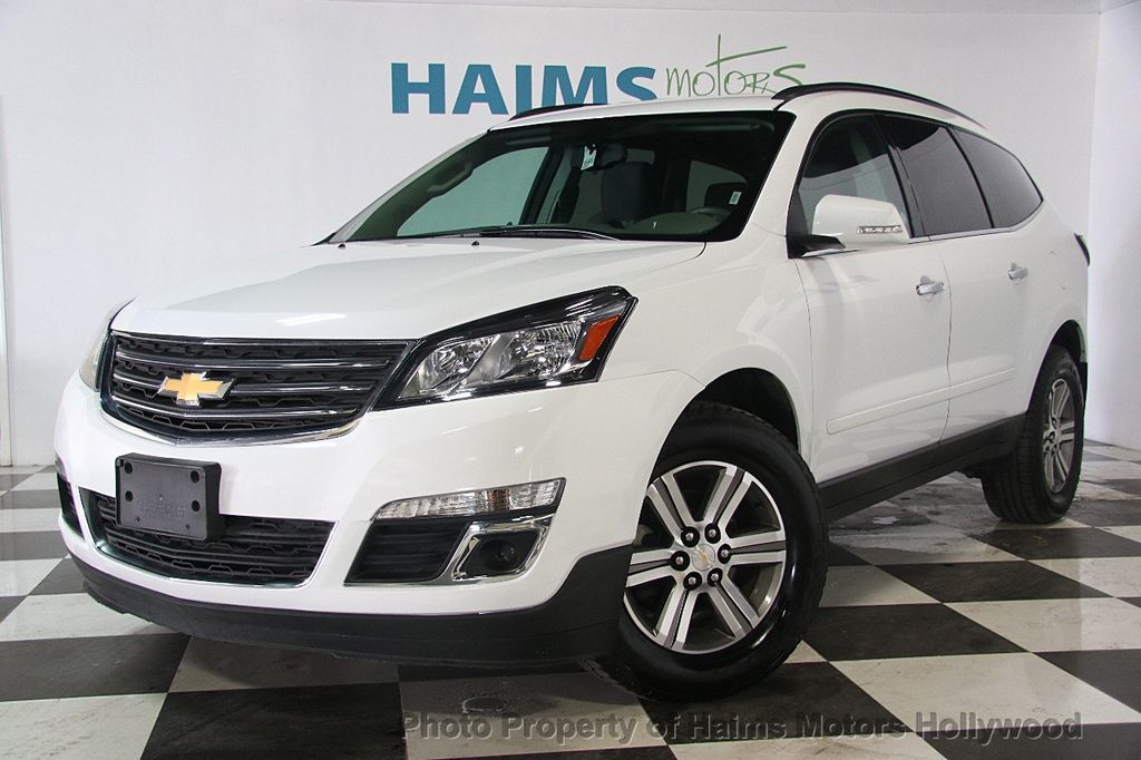 Used Chevy Traverse >> 2017 Used Chevrolet Traverse AWD 4dr LT w/1LT at Haims