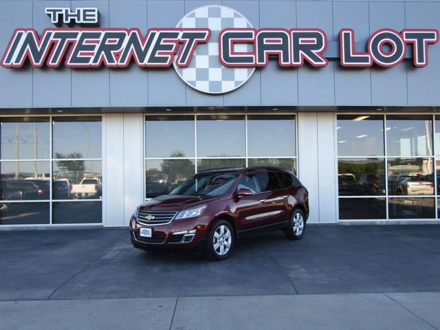 2017 Used Chevrolet Traverse Awd 4dr Lt W 1lt At The Internet Car Lot Serving Omaha Ne Iid 19343430
