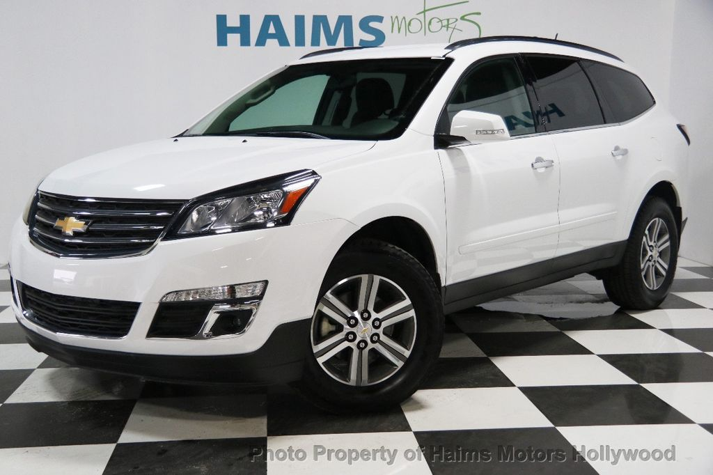 2017 used chevrolet traverse fwd 4dr lt w 1lt at haims motors ft lauderdale serving lauderdale. Black Bedroom Furniture Sets. Home Design Ideas