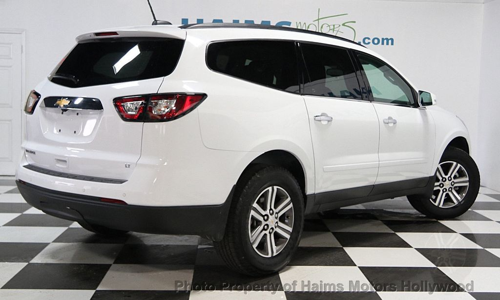 2017 Used Chevrolet Traverse Fwd 4dr Lt W 1lt At Haims