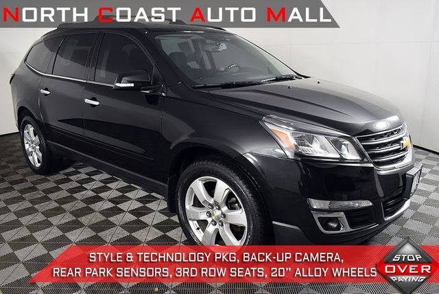 2017 Used Chevrolet Traverse Lt At North Coast Auto Mall Parent Serving Akron Oh Iid 20360246
