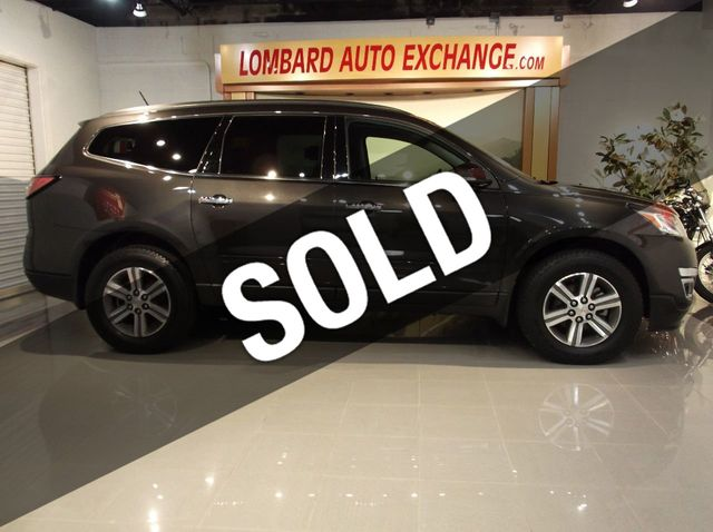 2017 Used Chevrolet TRAVERSE 2LT 3RD ROW SEAT, BACK-UP CAMERA, HEATED  F SEATS,REMOTE ENGINE START at Lombard Auto Exchange Serving Addison, IL,  IID