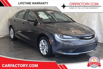 2017 Chrysler 200 200C Platinum AWD Sedan
