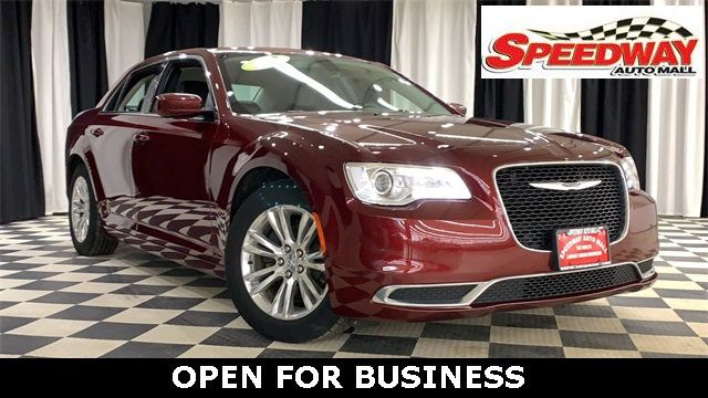 Used Chrysler 300 >> 2017 Used Chrysler 300 Limited Rwd At Speedway Auto Mall Serving Rockford Il Iid 19561044