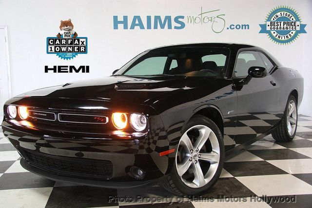 2017 Used Dodge Challenger R T Coupe At Haims Motors Serving Fort