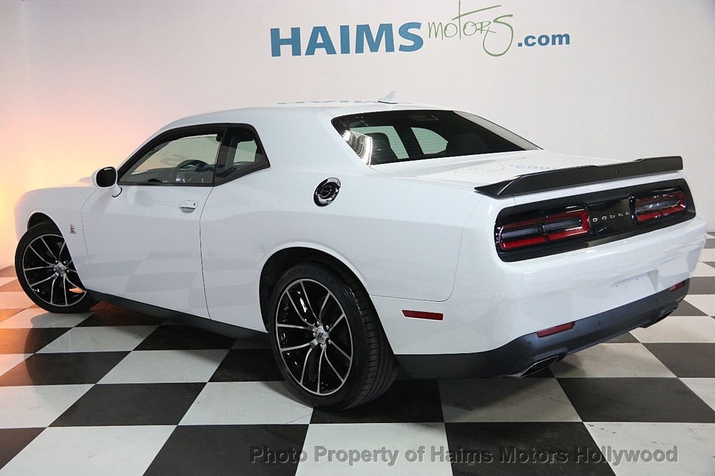 2017 used dodge challenger r t scat pack coupe at haims motors hollywood serving fort lauderdale. Black Bedroom Furniture Sets. Home Design Ideas