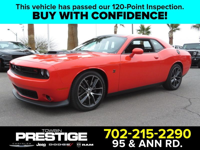 2017 Dodge Challenger R/T Scat Pack Coupe - 17454783 - 0