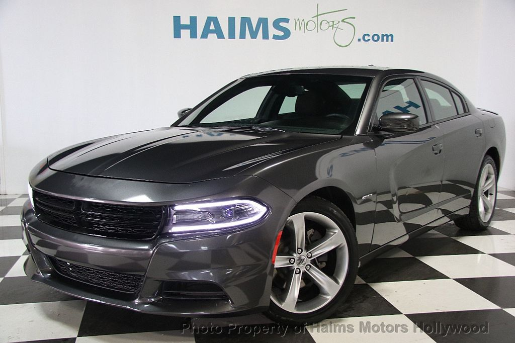 2017 Used Dodge Charger R T Rwd At Haims Motors Serving Fort