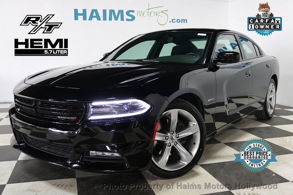 2017 Dodge Charger R/T RWD - 18360433 - 0