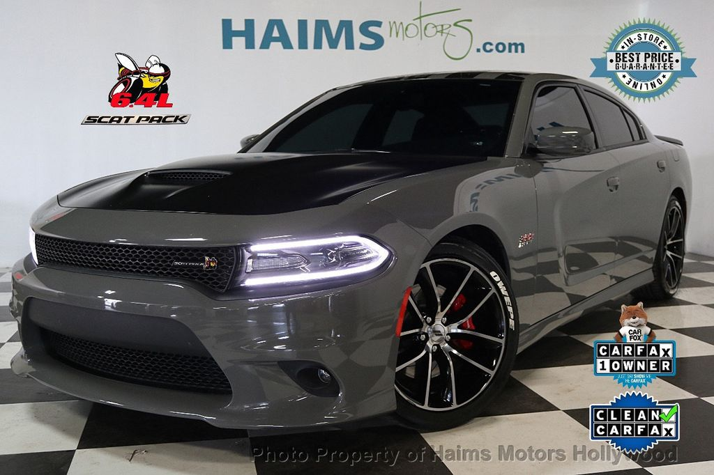 2017 Dodge Charger R/T Scat Pack RWD - 17656347 - 0