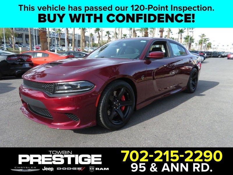 2017 Dodge Charger Srt Hellcat Rwd 17301533 0