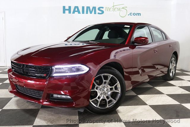 2017 Dodge Charger Sxt Awd Sedan For Sale Hollywood Fl