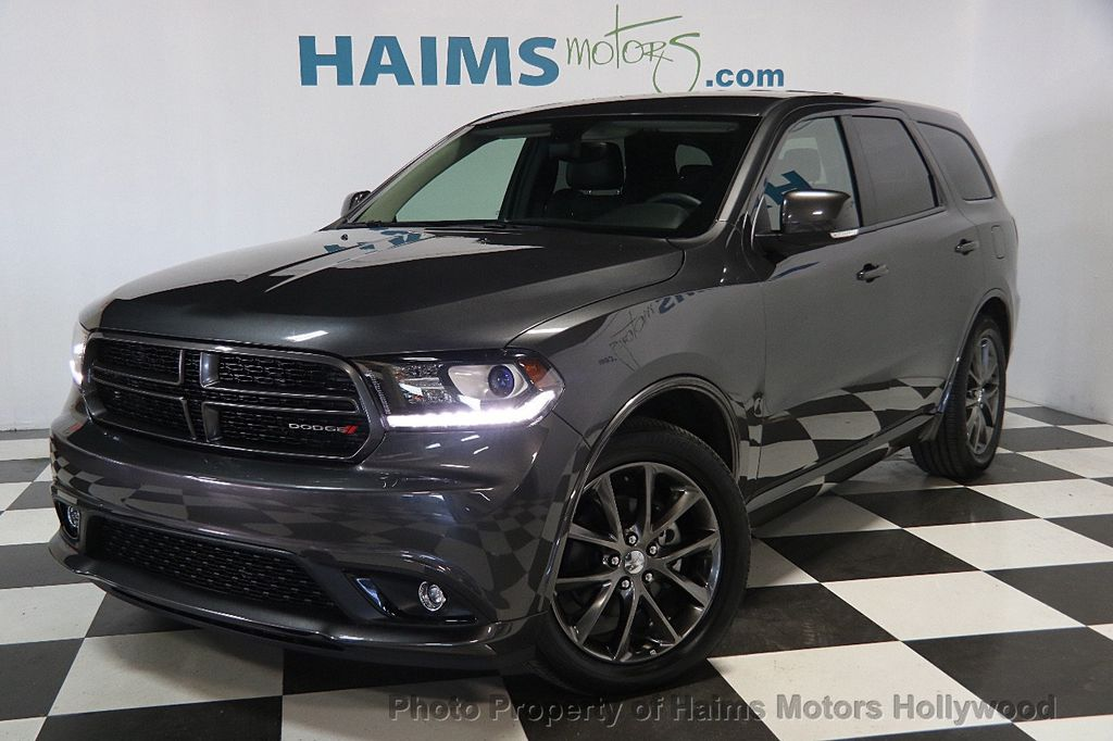 2017 used dodge durango gt rwd at haims motors serving fort lauderdale hollywood miami fl. Black Bedroom Furniture Sets. Home Design Ideas