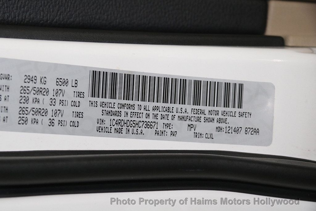 2017 Dodge Durango GT RWD - 17848548 - 37