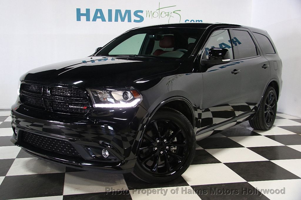 2017 used dodge durango r t rwd at haims motors serving fort lauderdale hollywood miami fl. Black Bedroom Furniture Sets. Home Design Ideas